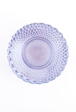 "Plate, ""Petite Point"", Purple Glass"