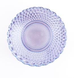 "Plate, ""Petite Point"", Purple Glass"