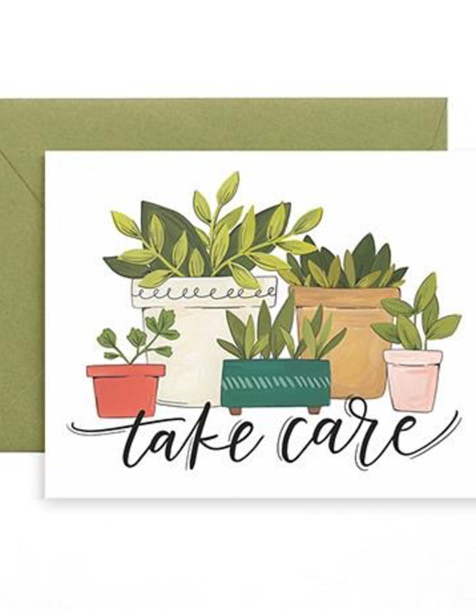 Card, Take Care Plants