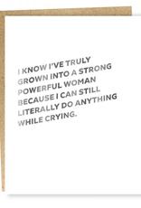 Card, Self Care Powerful Woman Card