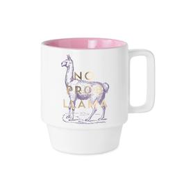 Mug, No Prob LLama, Ceramic - Vintage Sass