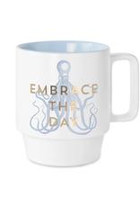 Mug, Embrace The Day, Ceramic - Vintage Sass