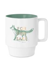 Mug, For Fox Sake, Ceramic - Vintage Sass