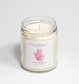 Rose Quartz Hidden Crystal Candle