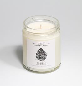 Candle, Hidden Crystal, Obisdian