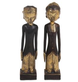Sculpture, Javanese Wedding Couple