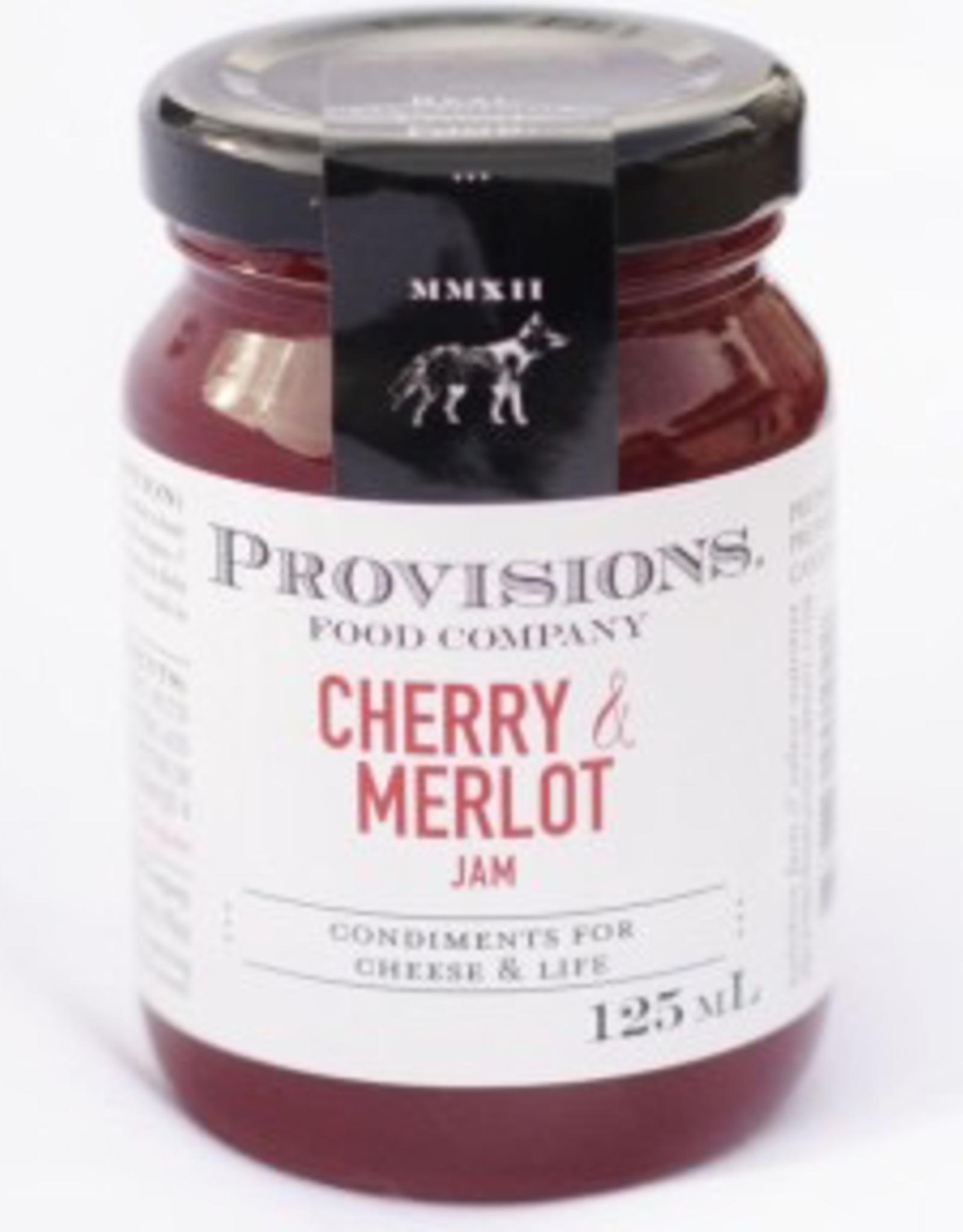 Provisions, Cherry & Merlot Jam