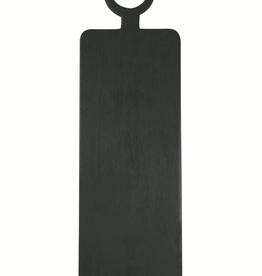 Brushed Black Wood Rectangle Cheeseboard