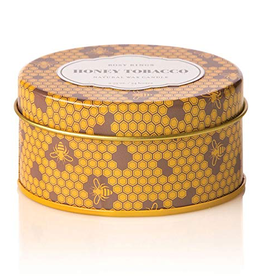 Honey Tobacco Travel Tin Candle