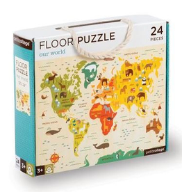 Floor Puzzle, Our World