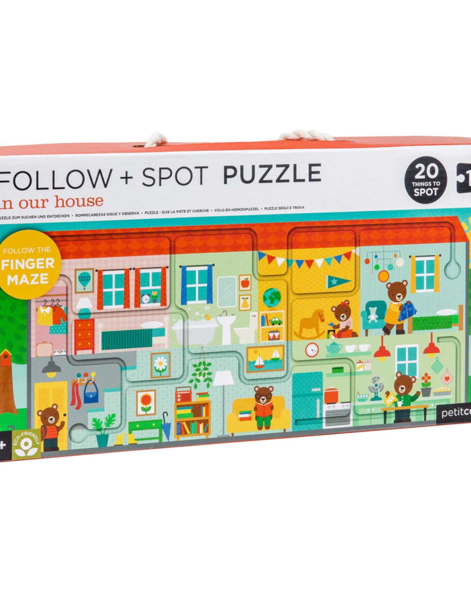 Puzzle, Follow & Spot, House