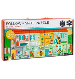 Follow & Spot House Puzzle
