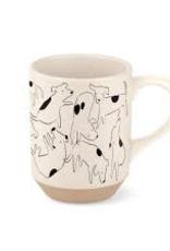 Mug, Nosey Dog Spot Stone
