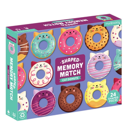 Shaped Memory Game - Cat Donuts