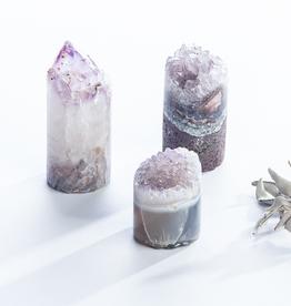 Amethyst Crystal Cupcake