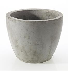 """Newport Pot, Grey, 10""""x 8.7"""""""