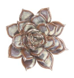 Small Cream Ceramic Flower