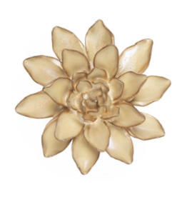 Ceramic Flower, Small Pearl
