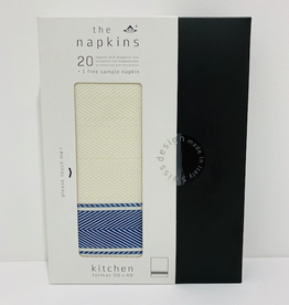 Napkin, Dutch Blue, Boxed