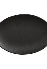 """Elan Oval Platter, Matte Black, L12"""""""