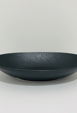 Bowl, Oval, Matte Black, Elan, 9.8""