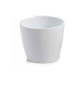 """White Marlow Pot, D10"""""""