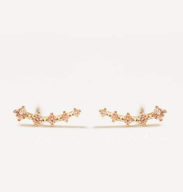 Crawler Earrings - Champagne