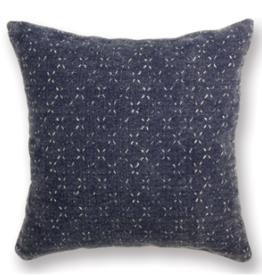 "L18"" W18"" Surrey Square Navy Pillow"