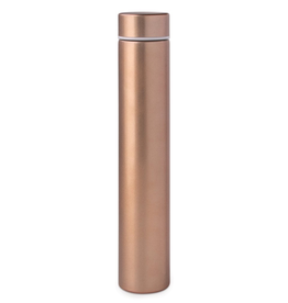 Bottle, Slim Flask In Tube, Copper