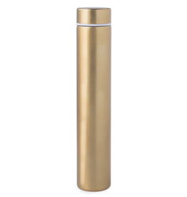 Bottle, Slim Flask in Tube, Gold