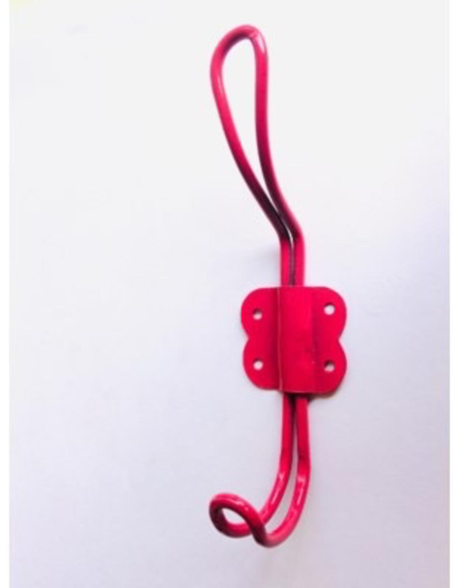 Hook, Wire Iron, Arran, Pink