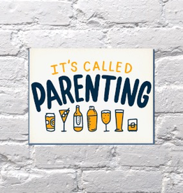 Card, Boozy Parenting