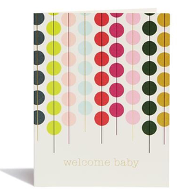 Card, Welcome baby