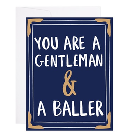 Gentleman and a Baller Card