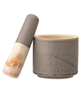 Mortar & Pestle, Reactive Glaze