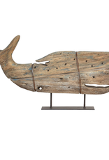 Sperm Whale, On Stand, kelso Wood