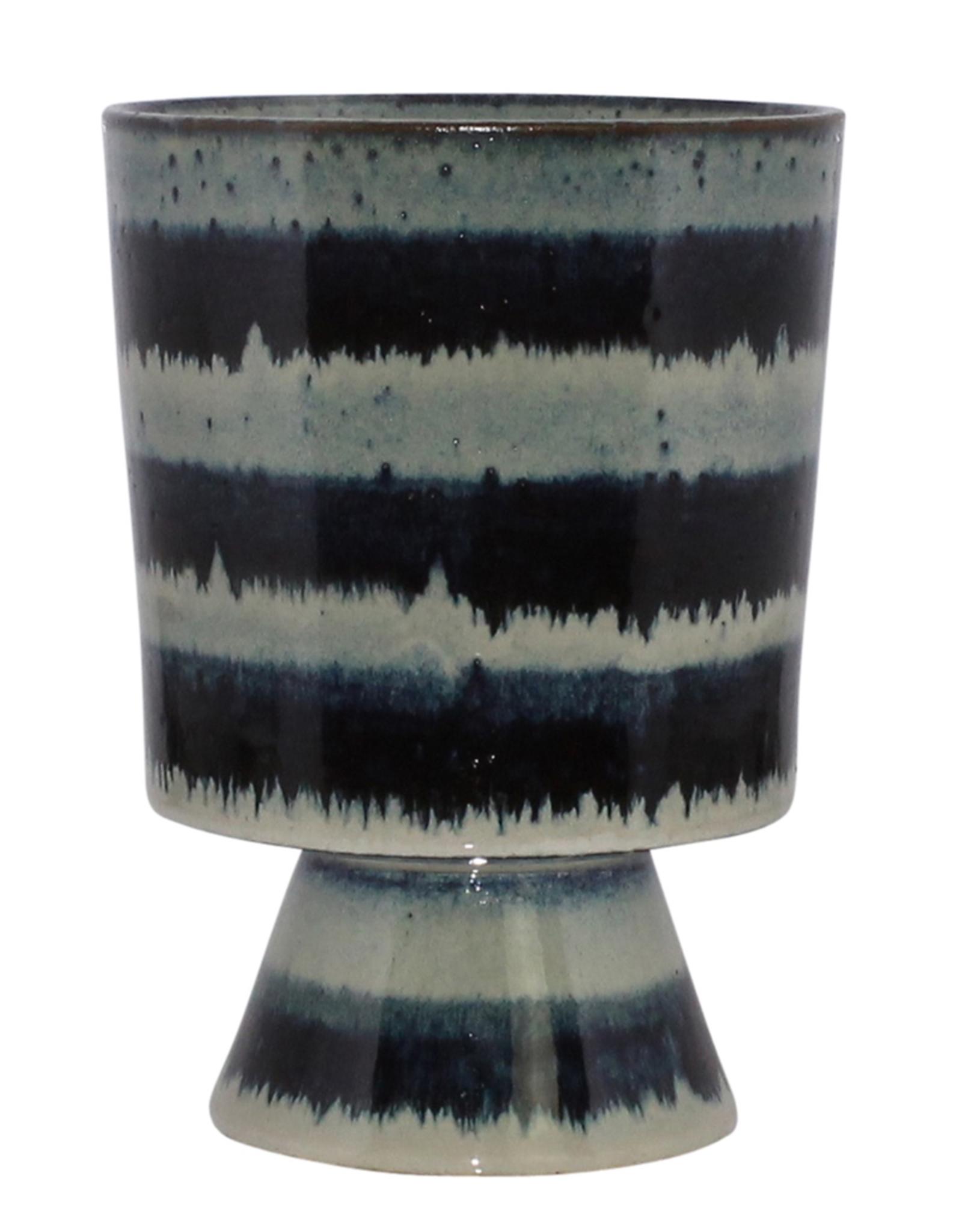 Chalice, Ceramic, Indigo, Toku