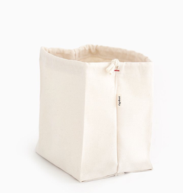 Organic Cotton Storage Bag, Stands Upright, Large
