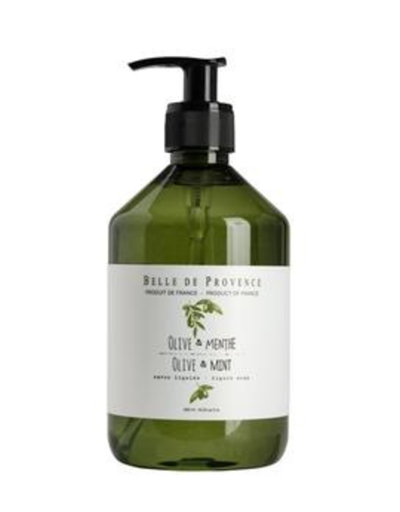 Liquid Soap, Olive Oil & Mint