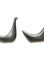 2 Styles Reactive Glaze Bird Terra-Cotta