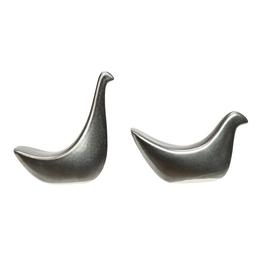 Bird, Terra-Cotta, Reactive Glaze, 2 Styles