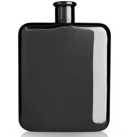 Flask, Gunmetal, by Viski