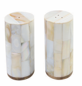 Shell Mosaic Salt and Pepper