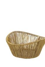 Basket, Gold Rhythm Wire, Small