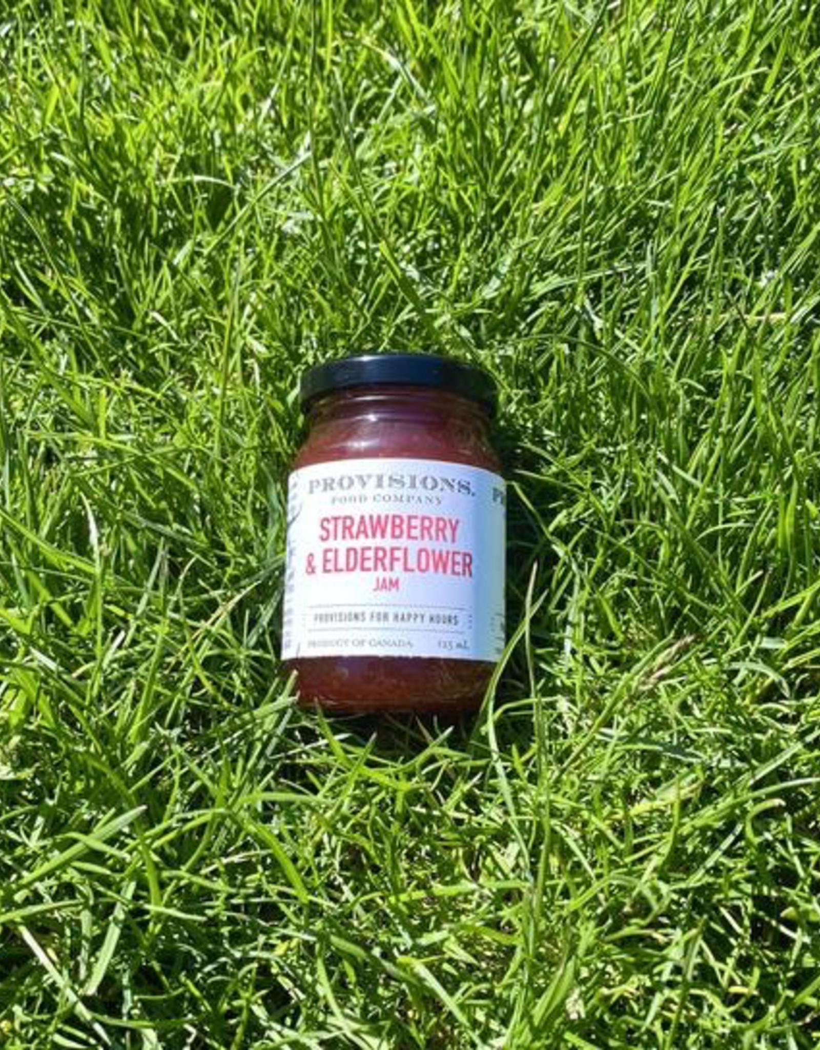 Jam, Strawberry Elderflower