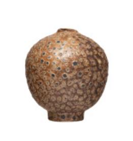 Stoneware Reactive Glaze Vase