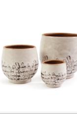 """Pot, Osaka, Japanese Style, Natural/Brown, 7"""""""