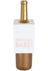 Card, Wine Tag, Birthdat Babe