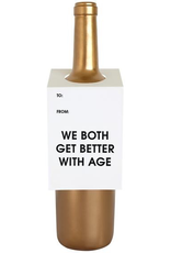 Card, Wine Tag, Better With Age