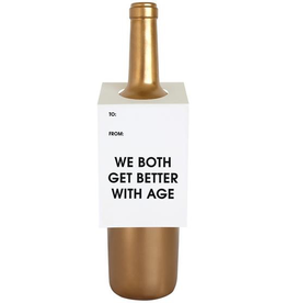 Better With Age Wine Tag Card